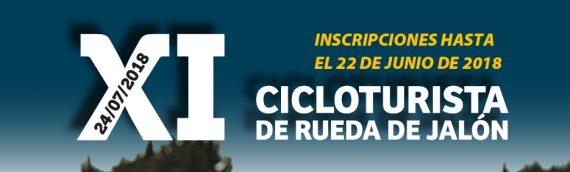 Abierta la inscripcion para la XI Cicloturista de Rueda de Jalón